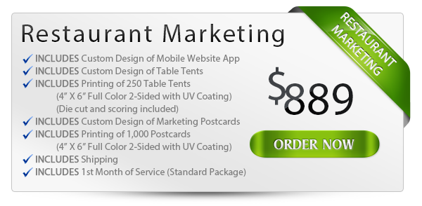 Restaurant Marketing Package